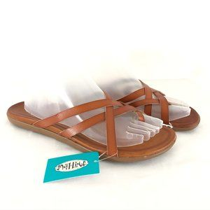 Mad Love Womens Adama Thong Sandals Strappy 9